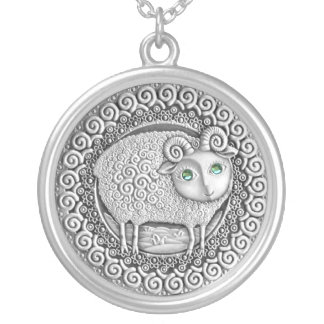 Aries Coin necklace