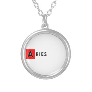 ARIES COLOR SILVER PLATED NECKLACE