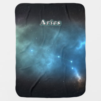 Aries constellation buggy blankets