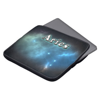 Aries constellation laptop sleeve