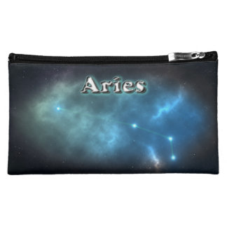 Aries constellation makeup bag