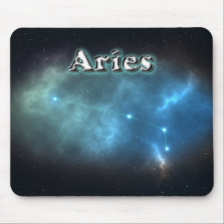 Aries constellation mouse pad