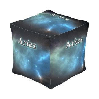 Aries constellation pouf