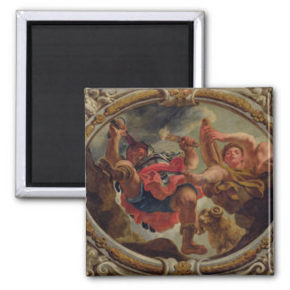 Aries, from the Signs of the Zodiac Square Magnet