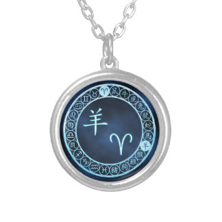 Aries/Goat Silver Plated Necklace