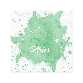 Aries Green Wall Art