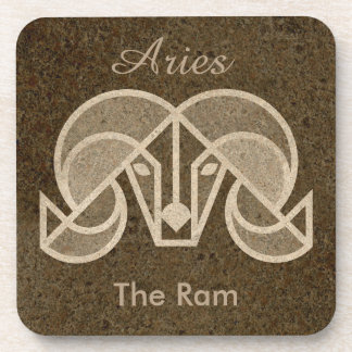 Aries, Horoscope Symbol, The Ram Coaster Set
