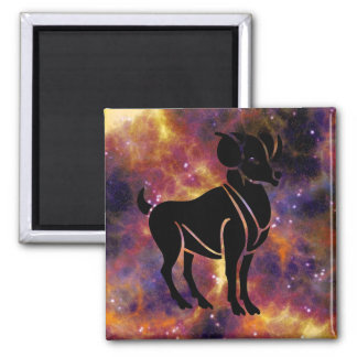 Aries Horoscope Zodiac Sign Magnet