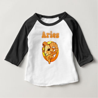Aries illustration baby T-Shirt