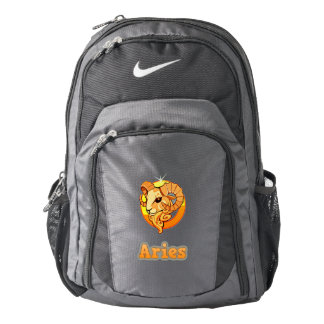 Aries illustration backpack