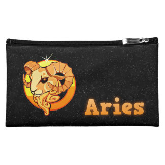 Aries illustration cosmetic bag