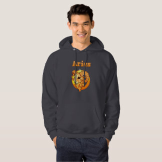 Aries illustration hoodie