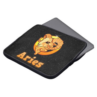 Aries illustration laptop sleeve