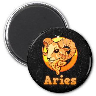 Aries illustration magnet