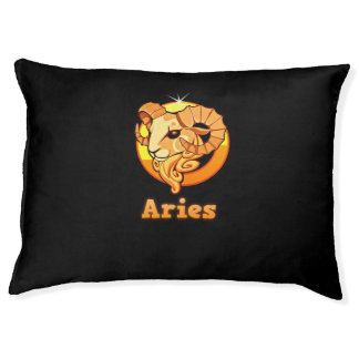 Aries illustration pet bed