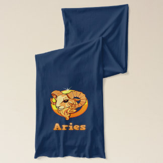 Aries illustration scarf