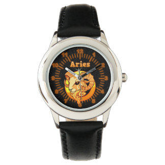 Aries illustration watch