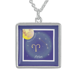 Aries March 21 tons of April 20 necklace