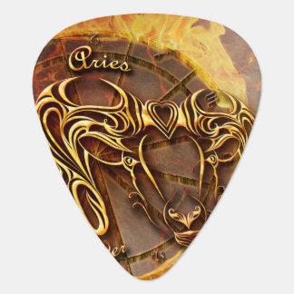 Aries March 21st until April 20th Guitar Pick