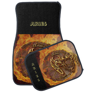 Aries March 21st until April 20th Horoscope Car Mat