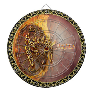 Aries March 21st until April 20th Horoscope Dartboard