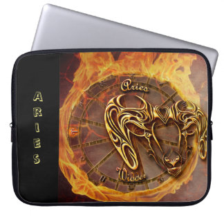 Aries March 21st until April 20th Horoscope Laptop Sleeve