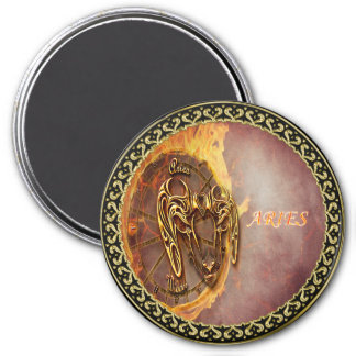 Aries March 21st until April 20th Horoscope Magnet