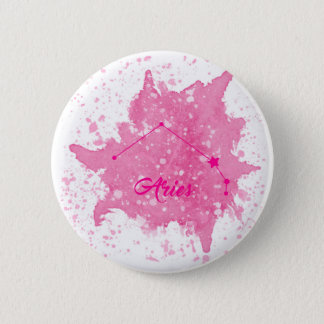 Aries Pink Button