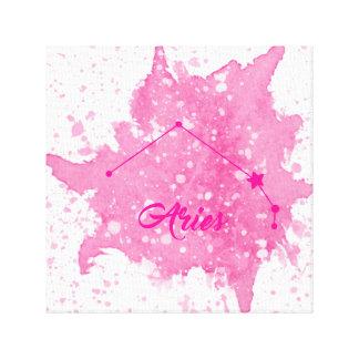 Aries Pink Wall Art