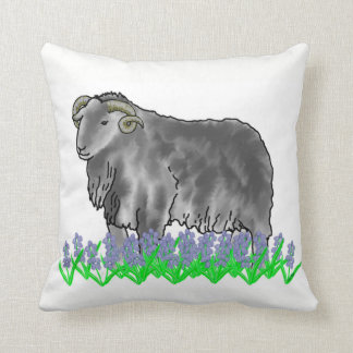 Aries Ram And Bluebells Art Cushion