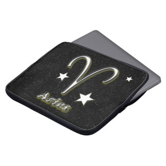 Aries symbol laptop sleeve
