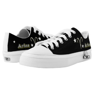Aries symbol low tops