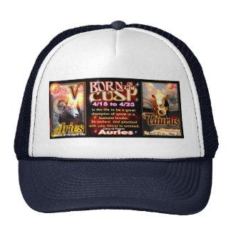 Aries Taurus zodiac Cusp by valxart Trucker Hat