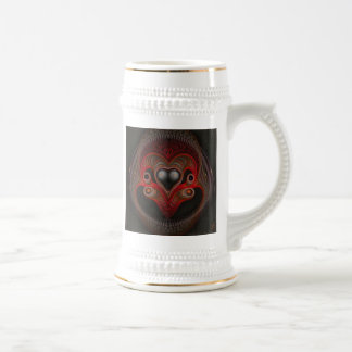 Aries the Ram Abstract Art Beer Steins