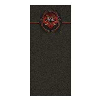 Aries the Ram Abstract Art Rack Card Design