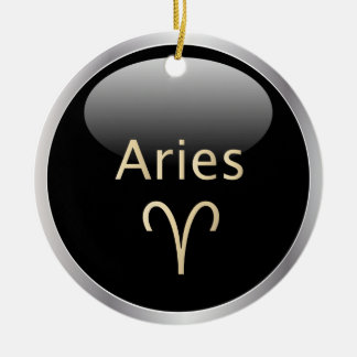 Aries the ram astrology star sign zodiac ornament