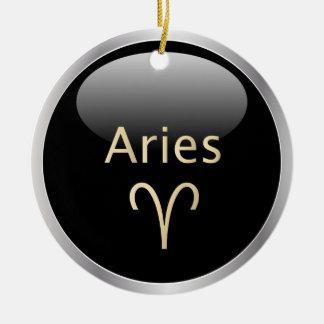 Aries the ram astrology star sign zodiac ornament