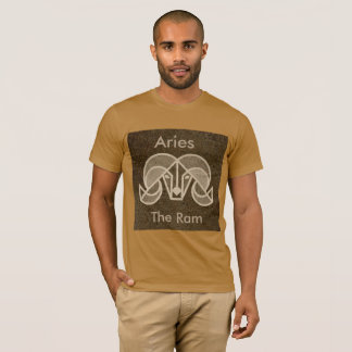 Aries, The Ram Horoscope Zodiac Symbol Shirt