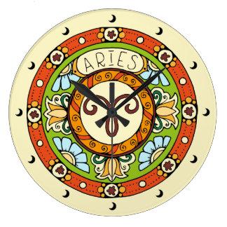 Aries the Ram Large Clock