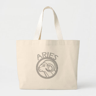 Aries the Ram Large Tote Bag