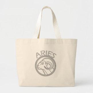 Aries the Ram Large Tote Bag