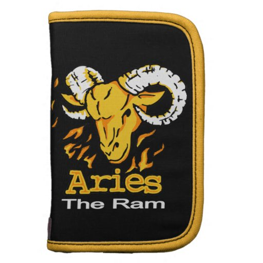 Aries The Ram zodiac astrological folio Folio Planners