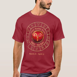 Aries - The Ram Zodiac Sign T-Shirt
