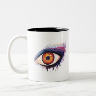 Aries Watercolor Eye | Mug