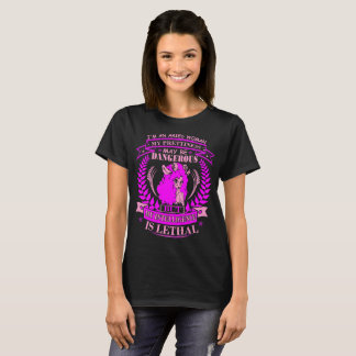 Aries Woman Prettiness Intelligence Lethal Tshirt