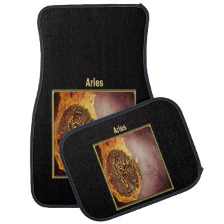 Aries Zodiac Astrology design Car Mat
