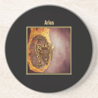 Aries Zodiac Astrology design Coaster