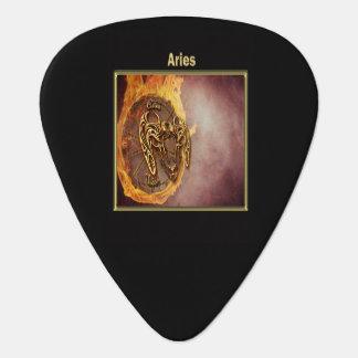 Aries Zodiac Astrology design Guitar Pick
