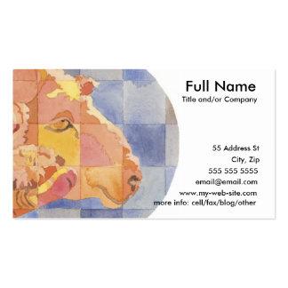 Aries Zodiac Business Card Template