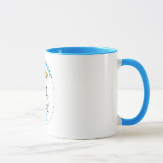 Aries Zodiac Cat mug